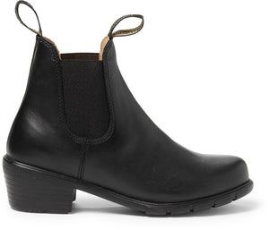 Blundstone 1671 Women's Heeled Boot, Leather Lined - Black