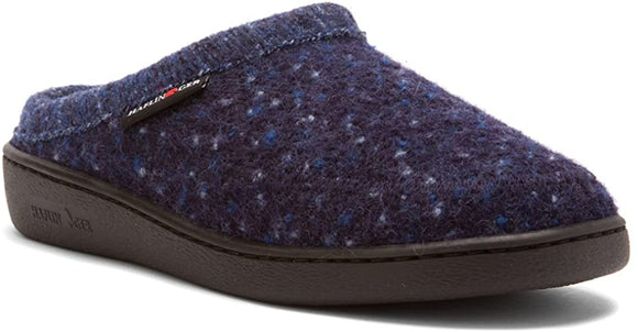 Haflinger AT Classic Hard Sole  - Navy