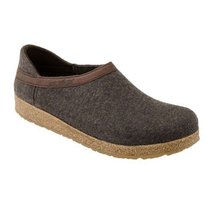 Haflinger Grizzly Closed Heel - Smokey Brown