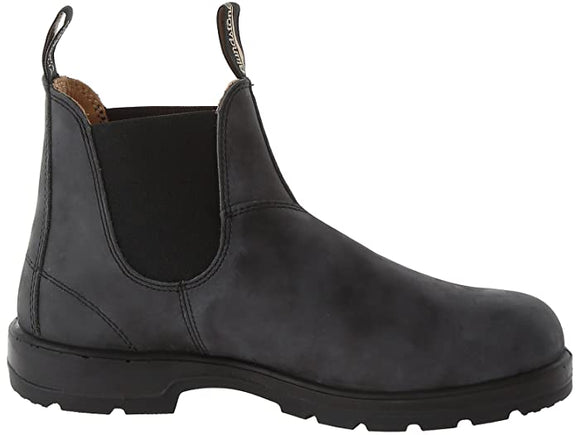 Blundstone 587 Chelsea Boot, Leather Lined - Rustic Black