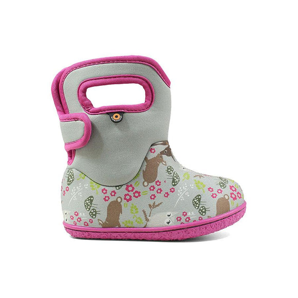 Bogs Baby - Woodland Gray and Pink