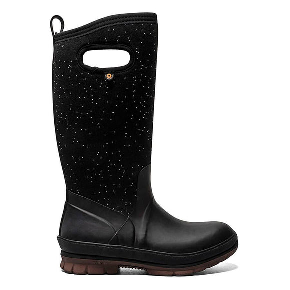 Bogs Women's Crandall Tall - Speckle Black
