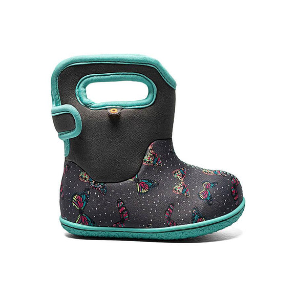 Bogs Baby - Butterfly - Dark Grey Multi