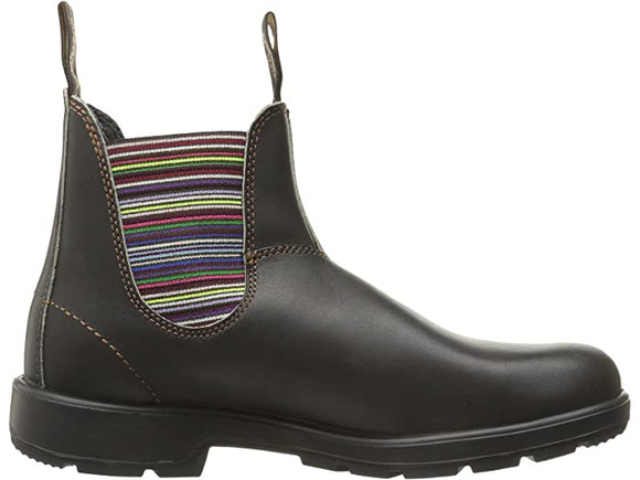 Blundstone 1409 Chelsea Boot - Stout Brown / Stripe