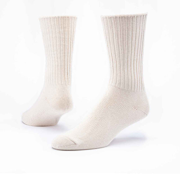 Maggie's Organics | Organic Cotton Crew Socks - Natural