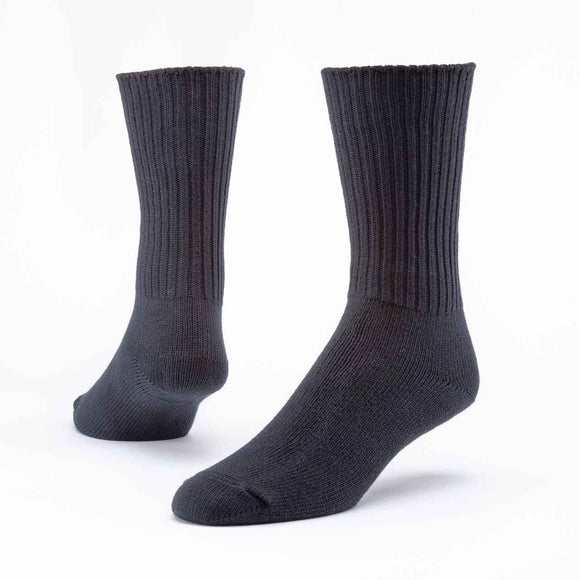 Maggie's Organics | Organic Cotton Crew Socks - Black