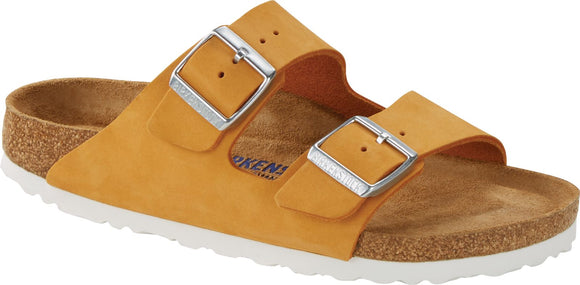 Birkenstock - Arizona Soft - Apricot Nubuck Leather