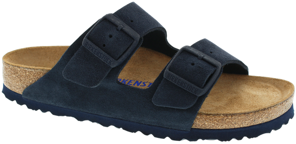 Birkenstock - Arizona Soft - Night Suede Leather