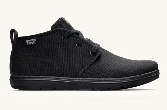 Lems Chukka - Blackout Canvas
