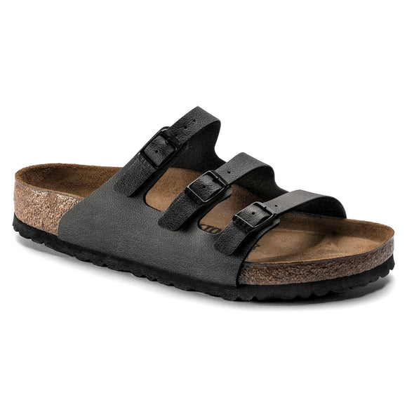 Birkenstock - Florida - Pull Up Anthracite Birko-Flor