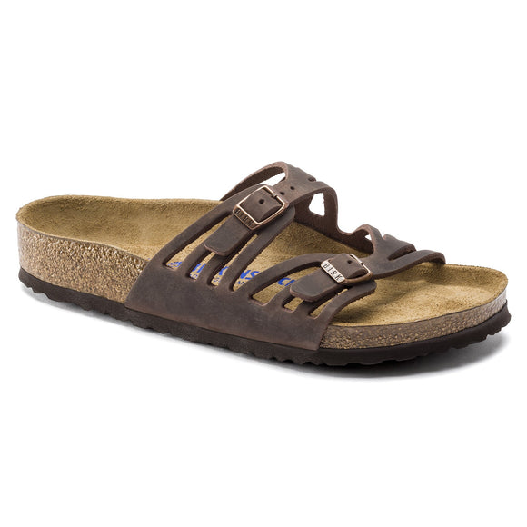Birkenstock - Granada Soft - Habana Oiled Leather