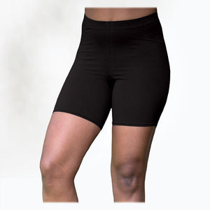 Maggie's Organics | Woman's Cotton Bike Shorts - Black