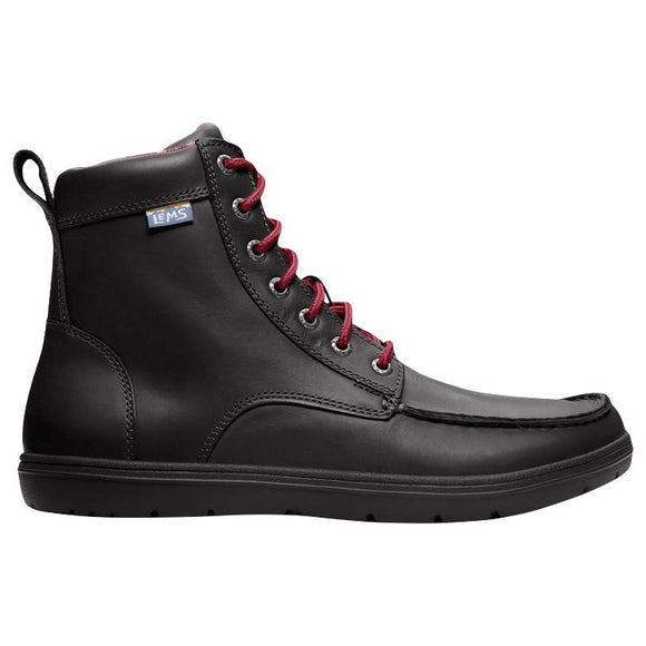 Lems Boulder Boot - Raven Leather