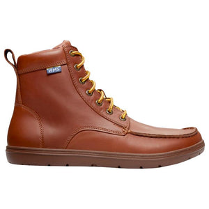 Lems Boulder Boot - Russet Leather - Euro Sizing
