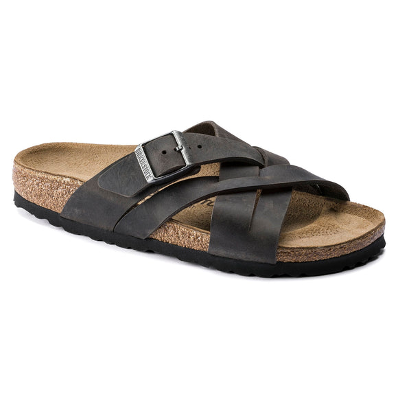 Birkenstock - Lugano - Iron Camberra Leather