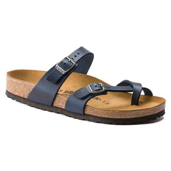 Birkenstock - Mayari - Blue Oiled Leather