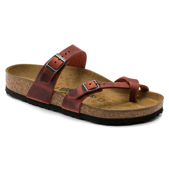 Birkenstock - Mayari - Earth Red Oiled Leather