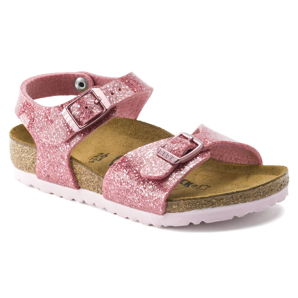 Birkenstock - Rio Kids - Cosmic Sparkle Old Rose