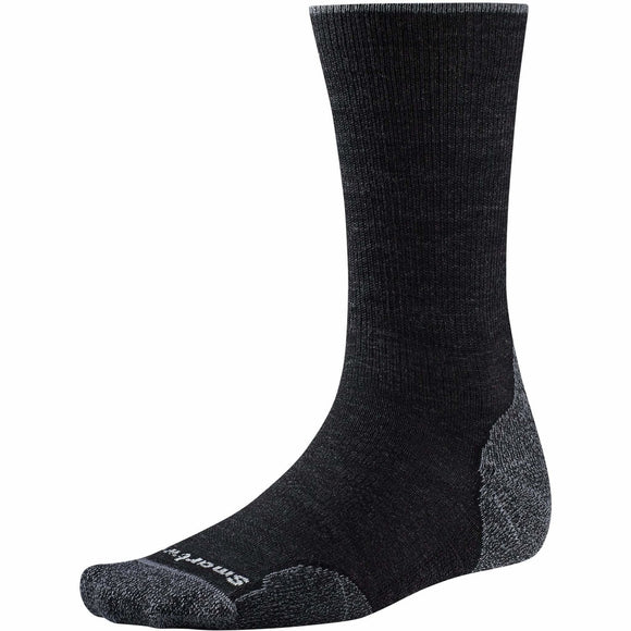 Smartwool Unisex PhD Outdoor Light Crew  - Charcoal
