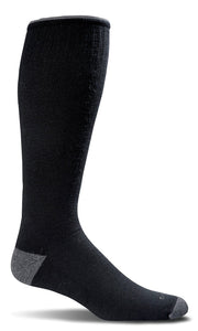 Sockwell - Men's Moderate Graduated Compression Socks- Circulator Black