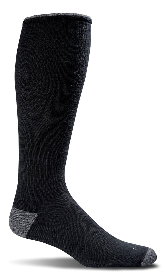 Sockwell - Men's Firm Graduated Compression Socks- Elevation Black