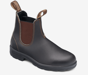 Blundstone 500 Chelsea Boot, Unlined - Stout Brown
