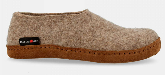 Haflinger Emil Slipper - Earth