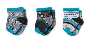Smartwool - Baby Bootie Batch - Black & Blue