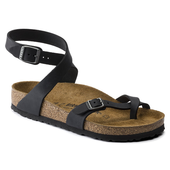 Birkenstock - Yara - Black Oiled Leather