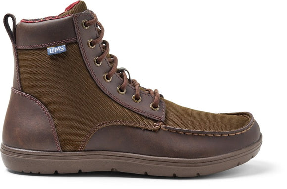Lems Boulder Boot - Timber Canvas - Euro Sizing
