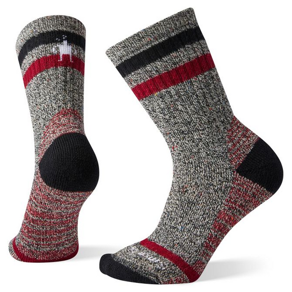 Smartwool -Women's Hike Heavy Heritage Crew Socks-Black