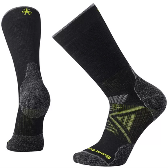 Smartwool - Unisex PHD Medium Cushion Hiking Crew Socks- Black