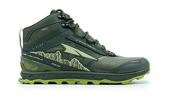 Altra - Men's Lone Peak 4 Mid RSM - Deep Forest