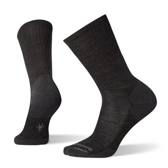 Smartwool - Men's Heathered Rib  - Charcoal