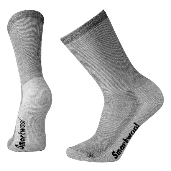 Smartwool - Unisex Medium Cushion Hiking Crew Socks  - Gray