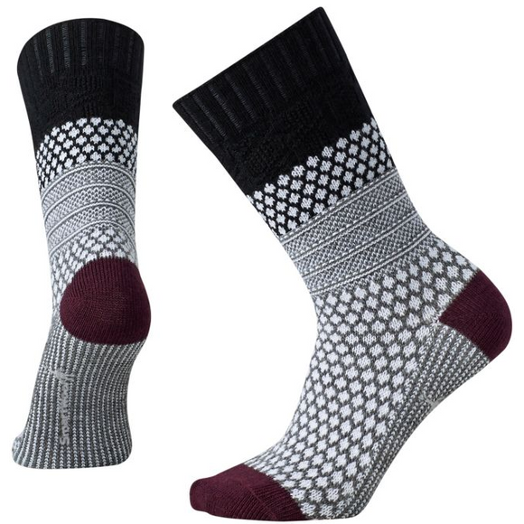 Smartwool - Women's Popcorn Cable Socks- Black