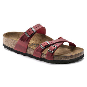 Birkenstock - Franca - Fire Red Oiled Leather