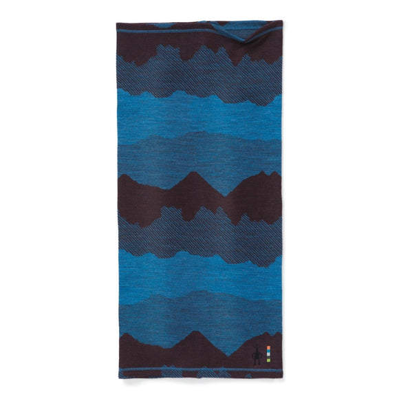 Smartwool - Merino 250 Reversible Pattern Neck Gaiter- Woodsmoke Moutain Scape