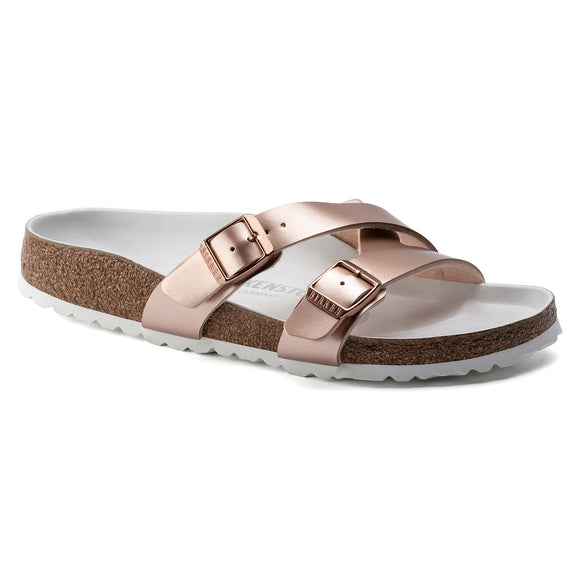 Birkenstock - Yao - Electric Metallic Copper Birko-Flor