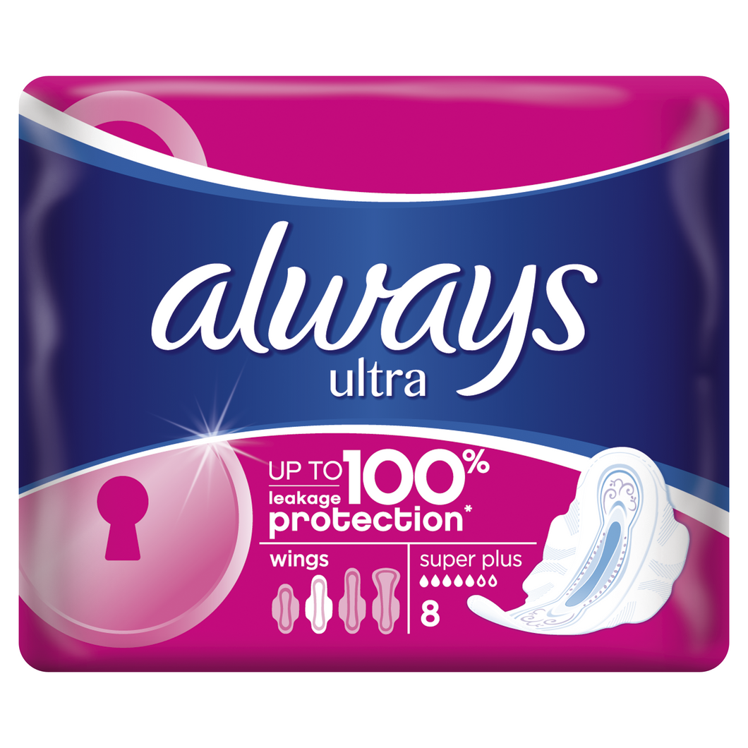 Always Abs Ultra Super Plus 8 Buc