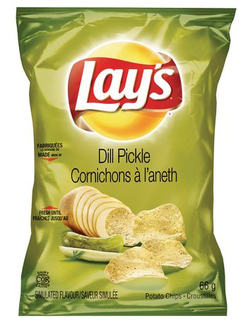 Lay S Chips Dill 140G