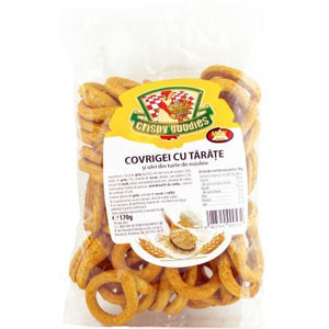 Crispy Goodies Covrigi Tarate 180G
