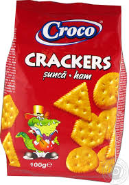 Croco Crakers Sunca 100G