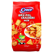 Croco Mix Brezel Crackers 250G