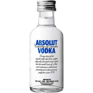 Mini Vodka Absolut 0.05Ml