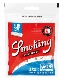 Smoking Filters Slim Blue