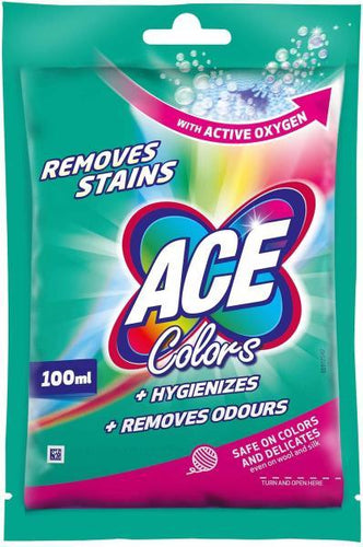 ACE DETERGENT LICHID COLOR 100ML - Carrefour express PRONTO