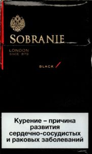 Sobranie Collection  Black
