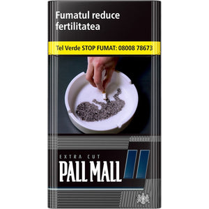 Pall Mall Extra Cut Black 100S