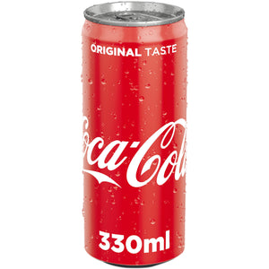 Coca Cola doza  330 ml